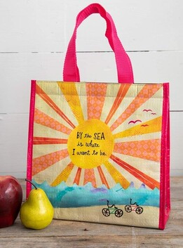 Natural Life By the Sea Insulated Lunch Bag