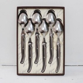 Laguiole Dessert Spoons - Stainless S S/6