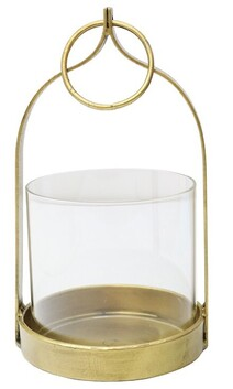Le Forge Istanbul Lantern Small - Gold
