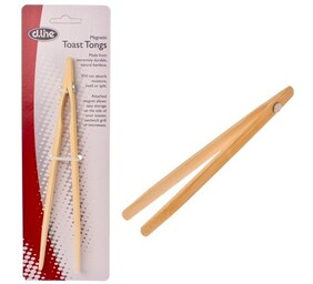 d.line Bamboo Toast Tongs Magnet - 20cm