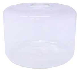 Le Forge Sienna Tube Vase Small - Opaque White