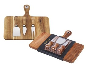 Tempa Fromagerie Rectangle 4 pce Cheese Set