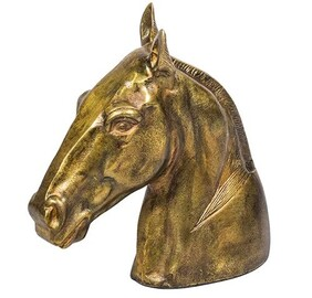 French Country Horse Head Decor