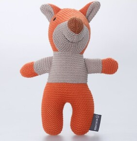 MM Linen Frankie Fox Knitted Toy